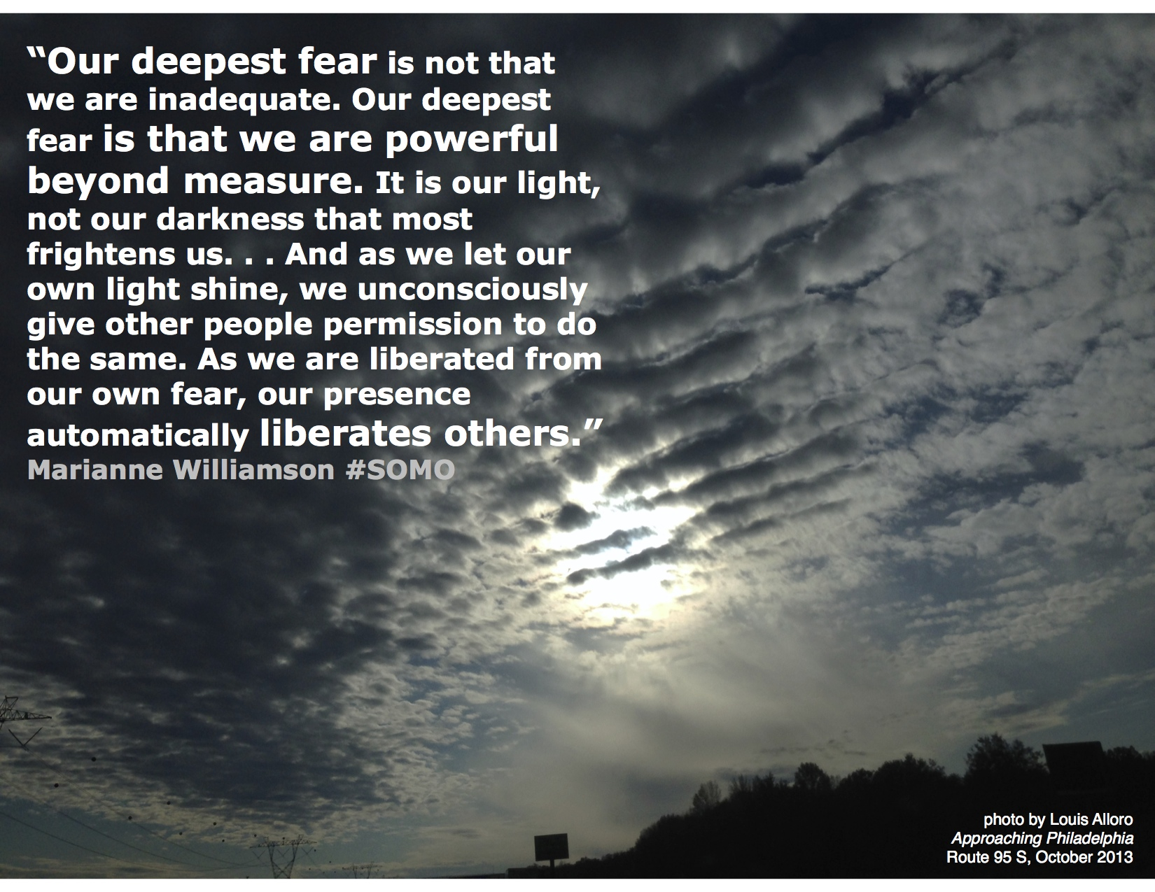 Our deepest fear somo